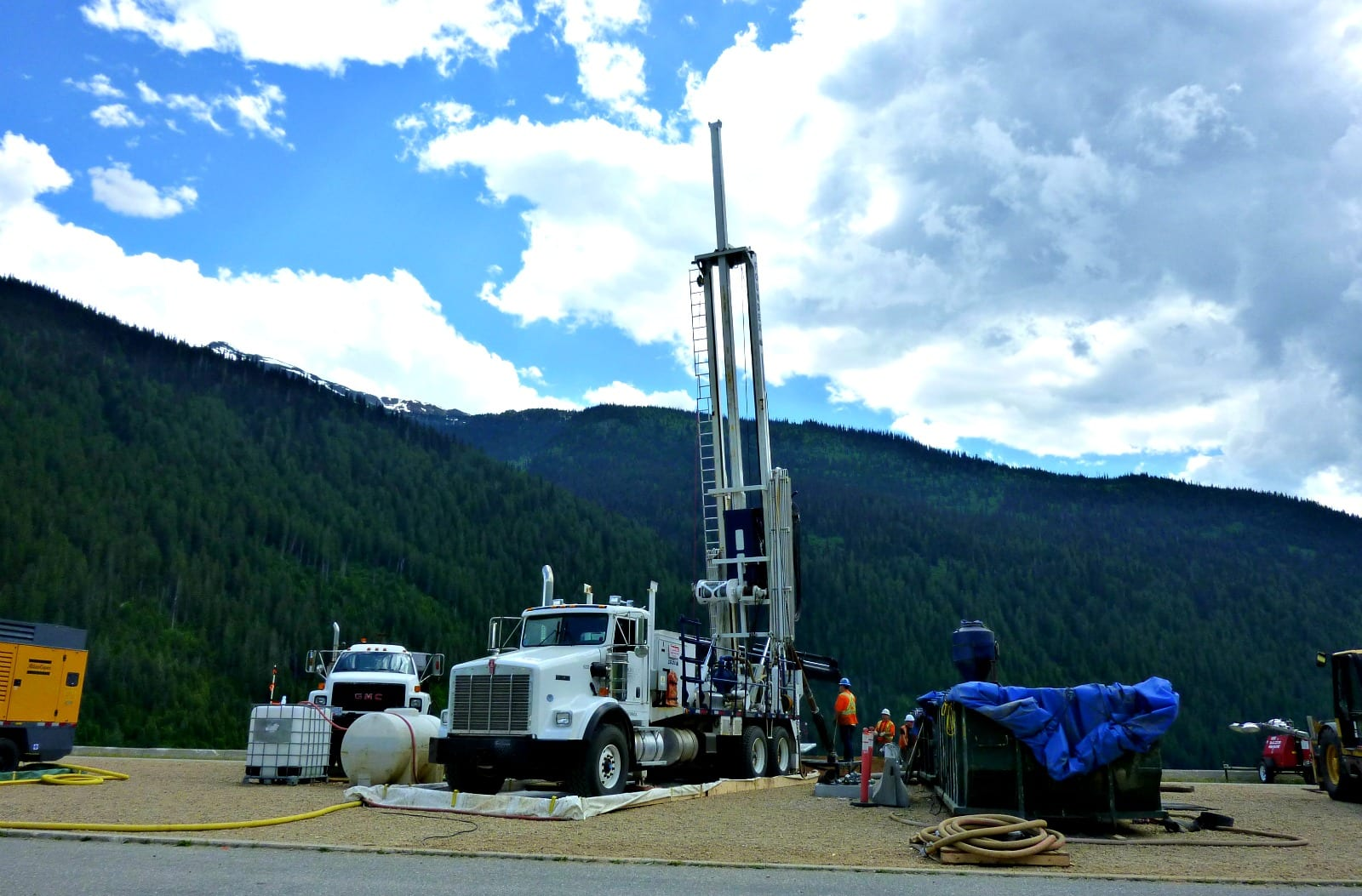 Chilliwack Dual Rotary Water Well Drilling Method - Irrigation System Boundary Road
