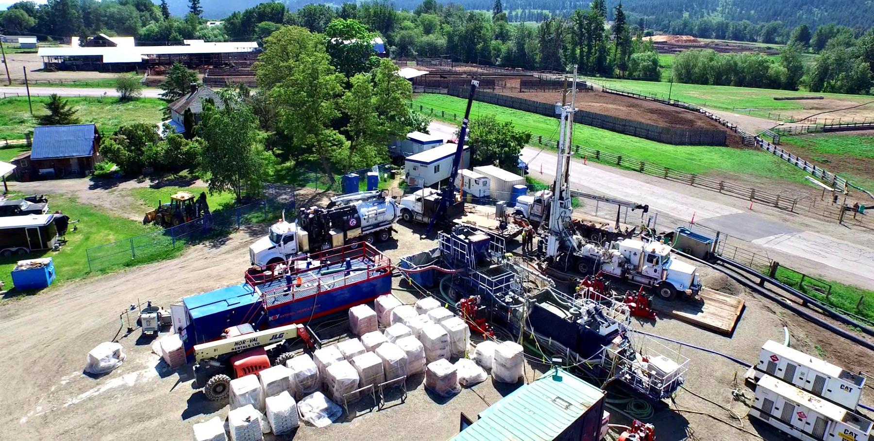 Fraser Valley Geotechnical Drilling Methods