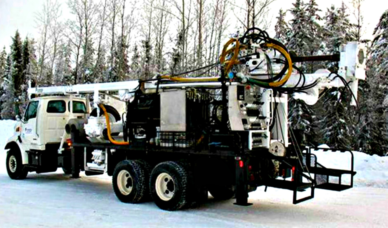 Fraser Valley Geotechnical Drilling - Simco - Sonic Drill Rig